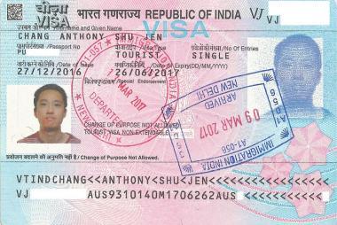 Dịch vụ làm Visa du lịch Ấn Độ