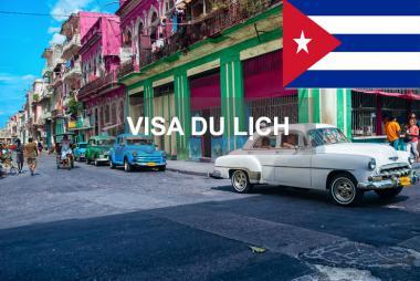 Dịch vụ làm Visa du lịch Cuba
