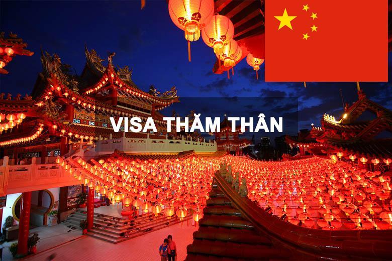 Dịch Vụ Xin Làm Visa Thăm Thân Trung Quốc