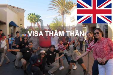 Dịch Vụ Xin Làm Visa Thăm Thân Anh